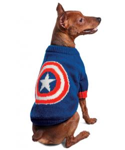 """Свитер """"Marvel - Капитан Америка"""" XS (20 см.)"""