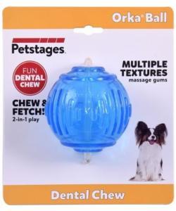 """Игрушка для собак """"ОРКА теннисный мяч"""", 6 см"""