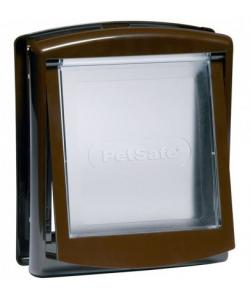 Дверца для животных Original 2 Way средняя, 2 позиции, клапан 22,8 х 26,7 см, коричневая