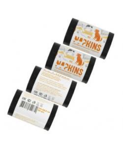 Пакеты гигиенические для выгула собак, малых и миниатюрных пород, черные, 4*20шт.