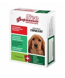 """""""Фармавит NEO"""" витамины для собак старше 8 лет, 90 таб."""