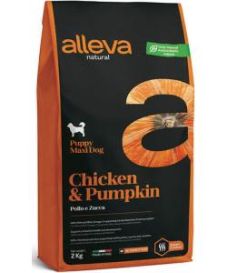 Natural Puppy корм для щенков крупных пород (курица и тыква) Chicken & Pumpkin Maxi