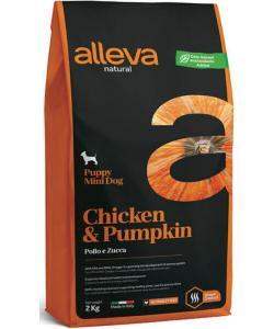 Natural корм для щенков мелких пород (курица и тыква) Chicken & Pumpkin Puppy Mini