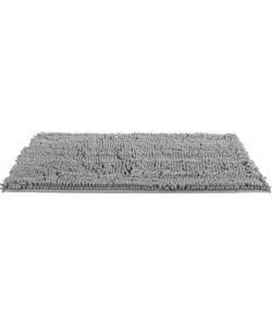 Коврик грязезащитный, непромокаемый, 100х70 см, серый (28536)