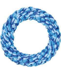 Игрушка для собак. Кольцо веревочное, плетеное ф14см (32655)