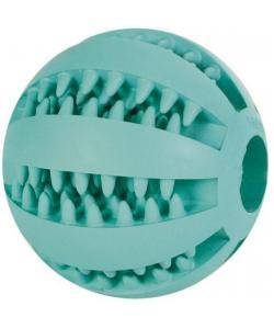 """Игрушка для собак. Мяч """"DENTAfun"""",Бейсбол,резина.,6.5см. (3289)"""