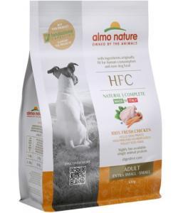 Корм для взрослых собак карликовых и мелких пород со свежей курицей (50% мяса)