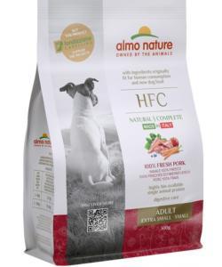 Корм для взрослых собак карликовых и мелких со свежей свининой (50% мяса)