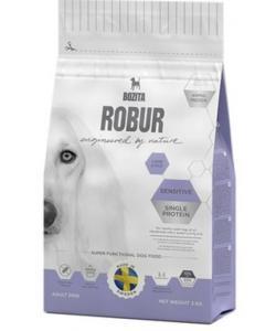 Robur для взрослых собак с нормальным уровнем активности и чувствительным пищеварением, с ягненком (Sensitive Single Protein  Lamb & Rice 23/13)