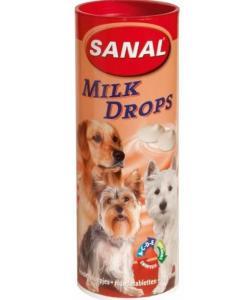 """Витаминизированное лакомство для собак молочные дропсы """"Milk drops"""""""