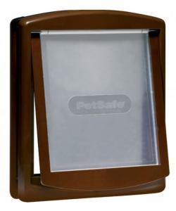 Дверца для собак Original 2 Way большая, 2 позиции, клапан 30,5 х 35,6 см, коричневая