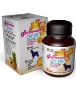 "Фармавит Актив витамины для собак ""совершенство шерсти"", 120 таб."
