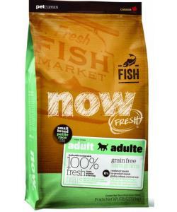 Беззерновой для малых пород всех возрастов с форелью, лососем и овощами, Fresh Small Breed Recipe Fish Grain Free 27/17