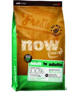 Беззерновой для малых пород всех возрастов с ягненком, свининой и овощами, Fresh Small Breed Recipe Red Meat Grain Free 27/17