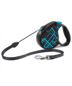 Поводок-рулетка для собак Flexi Life Lines M 5м до 20кг, трос