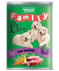 Clan Family консервы для щенков