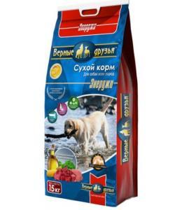 Сухой корм для взрослых активных собак ЭНЕРДЖИ