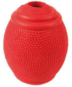 """Игрушка для собак, Мяч резиновый """"Регби"""" 8 см (3323)"""