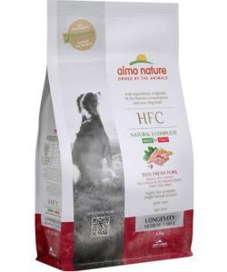 Корм для взрослых и пожилых собак средних и крупных пород со свежей свининой (45% мяса)