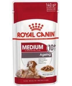 Паучи кусочки в соусе для пожилых собак средних пород старше 10 лет
