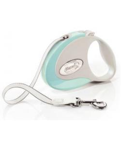 Рулетка-ремень для собак до 12кг, 3м, мятная (Style S Tape 3m mint)