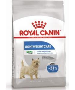 Для собак малых пород, предрасположенных к избыточному весу Mini Light Weight Care