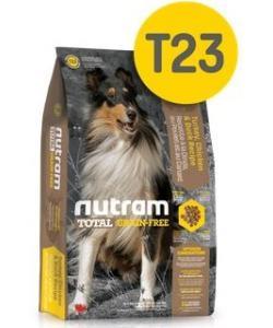 Беззерновой корм для щенков и собак с индейкой, курицей и уткой T23 Nutram GF Turkey, Chicken & Duck Dog Food