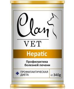 Clan Vet HEPATIC Диетические консервы для собак Профилактика болезней печени