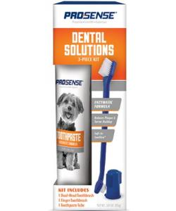 Набор для ухода за зубами: зубная щетка+напальчник+зубная паста, для собак