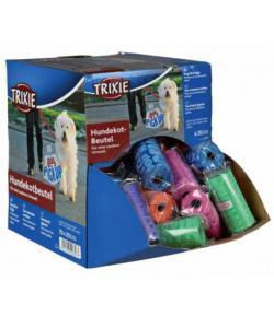 Пакеты для уборки за животными, цветные 3 л, 70 рулонов по 20 шт. (22843)