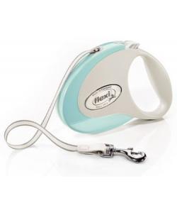 Рулетка-ремень для собак до 25кг, 5м, мятная (Style M Tape 5m mint)