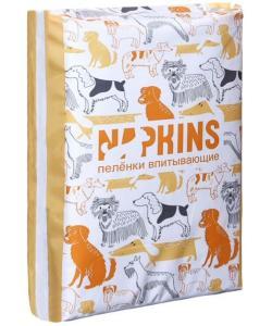 Впитывающие пеленки для собак (гелевые) 60*40, 5шт.