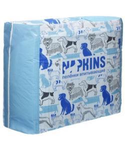 Впитывающие пеленки для собак (гелевые) 60*40см, 30шт.