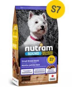 Cухой корм для взрослых собак мелких пород S7 Nutram Sound HOLISTIC Small Breed Adult Dog