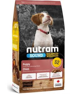 Cухой корм для щенков S2 Nutram Sound Puppy