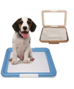 Туалет для собак с фиксатором, малый 47*34*4 см (Р586)
