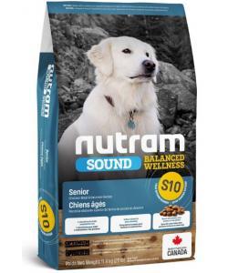 Cухой корм для пожилых собак S10 Nutram Sound Senior Dog