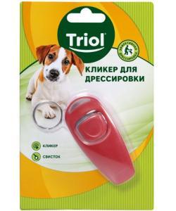 Кликер-свисток для дрессировки собак, 7,5*3,5*2,8см