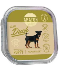 Безглютеновые консервы для щенков с уткой (Araton Puppy canned pet food with duck)