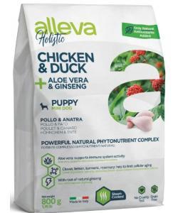 Holistic dog сухой корм для щенков (курица и утка, алое вера и женьшень), Chicken & Duck + Aloe vera & Ginseng Puppy Mini