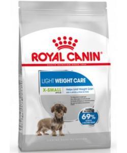 Для взрослых и стареющих собак малых пород (до 4 кг) склонных к набору лишнего веса X-small Light Weight Care