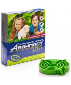 Аванпост Bio ошейник репеллентный для щенков и котят 35см