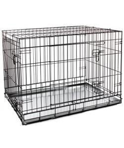 Клетка для животных c 2 дверцами, эмаль, 91,5*62*70 см (004-2K)