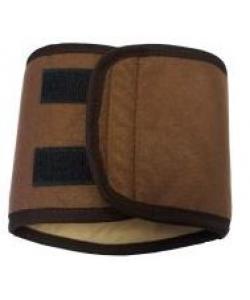 Пояс для кобелей многоразовый впитывающий, коричневый разм.L (39-44см)