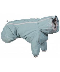 Плащ для собак Hurtta Rain Blocker с передними лапами, размер 25, Бирюзовый