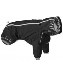 Плащ для собак Hurtta Rain Blocker с передними лапами, размер 25, Чёрный