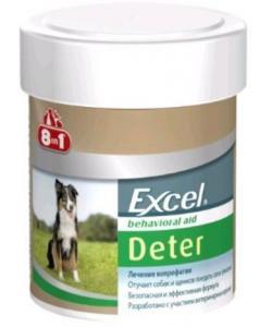 Excel  Deter Кормовая добавка для собак для отучения поедания фекалий, 100 таб.