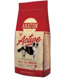 Для активных собак с мясом птицы (ARATON dog adult active)