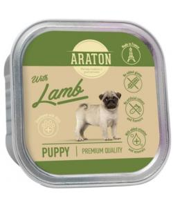 Безглютеновые консервы для щенков с ягненком (Araton Puppy canned pet food with lamb)