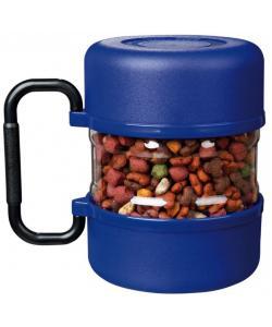 Набор дорожный ,контейнер для корма и 2 миски (2491)
